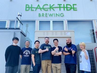 いわて蔵ビール、ベアレン醸造所、BLACK TIDE BREWINGのコラボビール