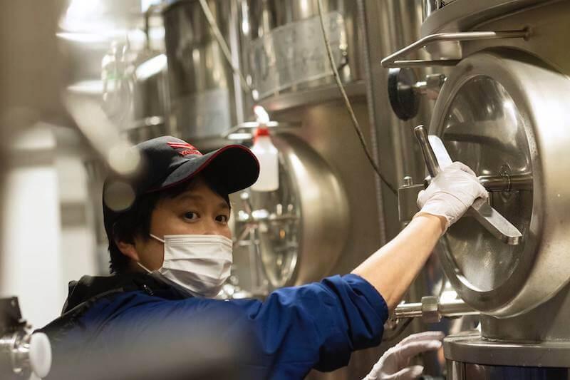 横浜ビール深田醸造長
